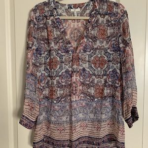 Joie Silk Blouse Medium
